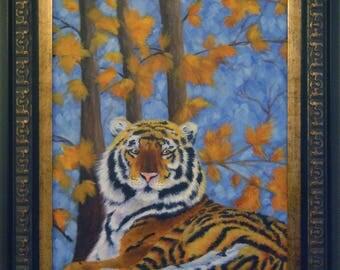 Tiger Painting POSTER Print