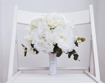 Evangeline Silk Flower Wedding Bouquet
