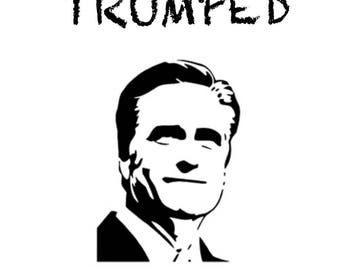 """Giclée print """"Trumped - Mitt"""", limited edition of 10 from the series """"Trumped"""" by art news"""