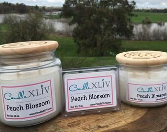 Peach Blossom Soy Jar Candle