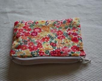 Kit liberty wallet red 13x10cm