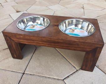 Dog Bowl and Feeder