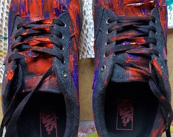 Hand painted Vans shoes by CTH34.