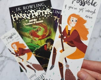 Ginny Weasley | Harry Potter bookmark