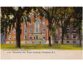 Brown University - Rockefeller Hall, completed 1904, renamed Faunce House in 1930 -  Providence, Rhode Island