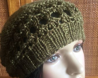 Semi-slouchy Beanie with cute design