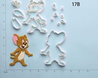 Tom And Jerry Fondant Cutter Tom And Jerry Cookie Cutter Tom And Jerry Gift Tom And Jerry Party Tom And Jerry Birthday Gift
