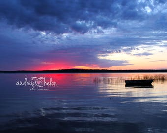 Docking at Sunset