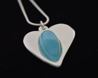 Slope... HEART D' Bay... Larimar gem... Jewel by Andrea Chiavacci
