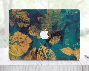 Golden Feather MacBook Air 11 Sticker MacBook Air 13 Sticker MacBook Pro 13 2016 Skin Mac Book Pro 15 2016 Green Pro Retina Sticker ES0050