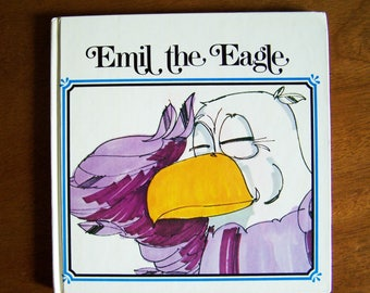 Emil the Eagle by Tom LaFleur, edited by Gale Brennan - Children's Stories With a Moral - Children's Book - Board Book - Friends