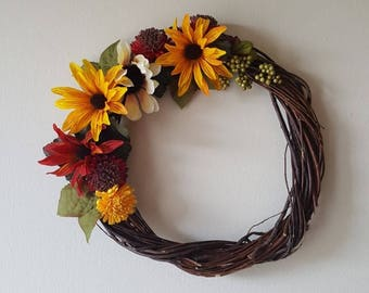 Small floral wreath