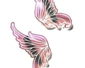 Fairy Wing Hair Clips