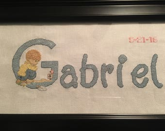 Precious Moments Embroidered Names