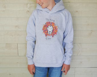 Child Lion Hooded Sweatshirt