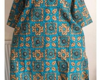 African Ankara dress