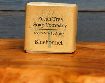 Bluebonnet Goat's Milk Bath Bar Soap