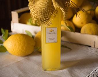 Limoncello - Handmade lemon liqueur