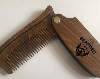 Beard metal beard comb,wood comb,honey comb necklace,combat boots men,combat boots women,combat boots svg,floral hair comb,wooden comb