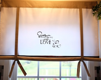 """43"""" Long/Wide Window Shade, Curtain for your kitchen, Roll Up Shade."""