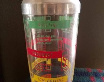Vintage drink shaker