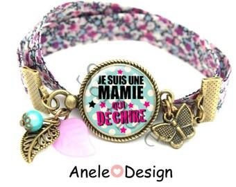 Liberty gift for Grandma - blue bracelet
