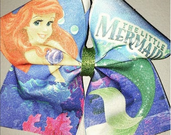 The Little Mermaid (Ariel) Cheer Bow
