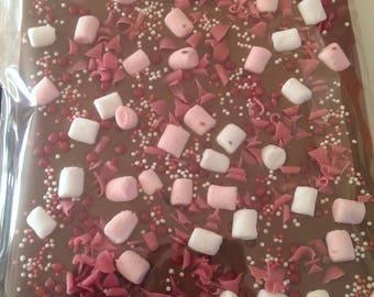 500g belgian chocolate slab bar