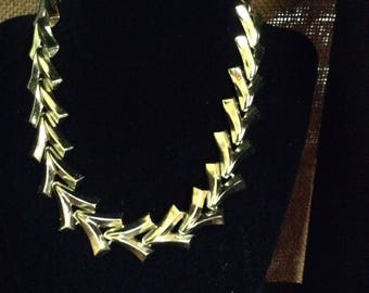 """Gold-tone Recurring """"V"""" Necklace"""