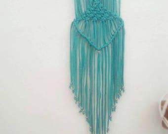 Macrame Wall Hanger - Turquoise