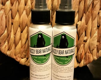 Cedar Lemongrass Men's Body Spray