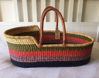 Handwoven Moses Basket
