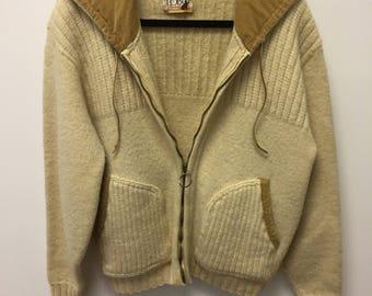 Vintage 1970's Lobo by Pendleton 100% Virgin Wool Sweater Size Medium