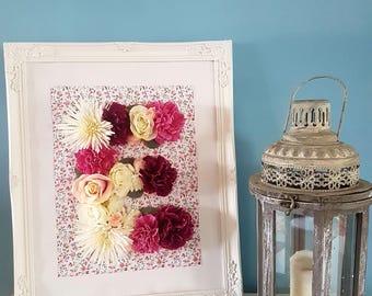 Floral Large Frame