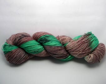 Watermelon Tourmaline 4 ply sock yarn