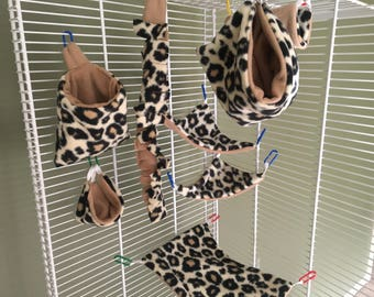 Sugar Glider cage set (8 pieces)
