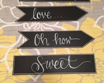 Event Chalk Signs