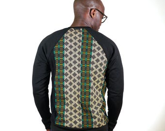 Pull in bi-material fleece and Achille Wave wax