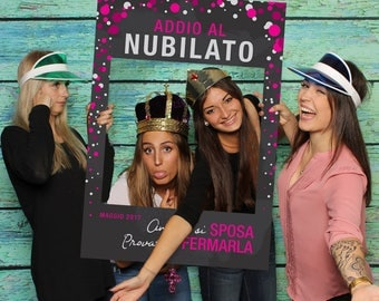 Bachelorette party Photo Booth-digital frame