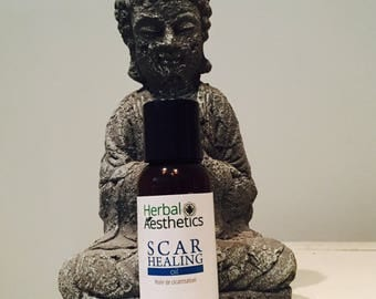 Scar Healing Oil - Natural Organic Ingredients and Essential Oils