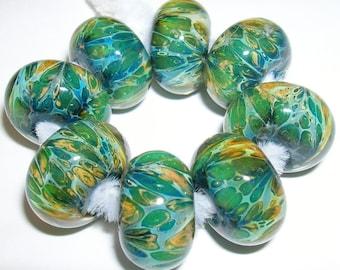 Beau Hawn Lampwork Boro GLASSADDICT Beads borosilicate beads OCEANS