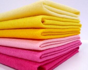 RHUBARB & CUSTARD Colours Felt Pack