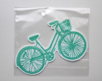 bike iron on patch