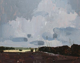 Grace, Original Spring Landscape Painting on Panel, Stooshinoff