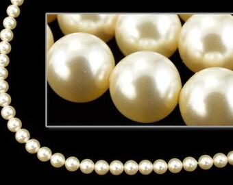Swarovski 5810 4mm Cream Pearl