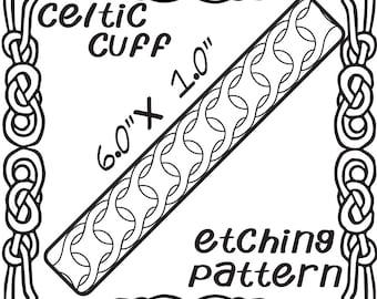 Digital Etching Celtic Cuff Download -DT-F-CEL-20