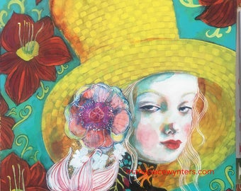 Heaven From Within- Original painting by Maria Pace-wynters