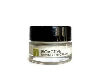 BIOACTIVE Firming Eye Cream. Wrinkle Cream. Eye Serum. Anti Aging Cream. Anti Aging Skin Care. Natural Organic. Non Toxic Skin Care. Vegan.