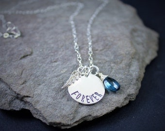 Forever Angel's Tear Necklace