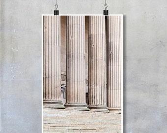 Liverpool St Georges Hall Pillars, architecture - 12x8 18x12 20x30 20x16 photographic wall art home decor photo big print poster dis